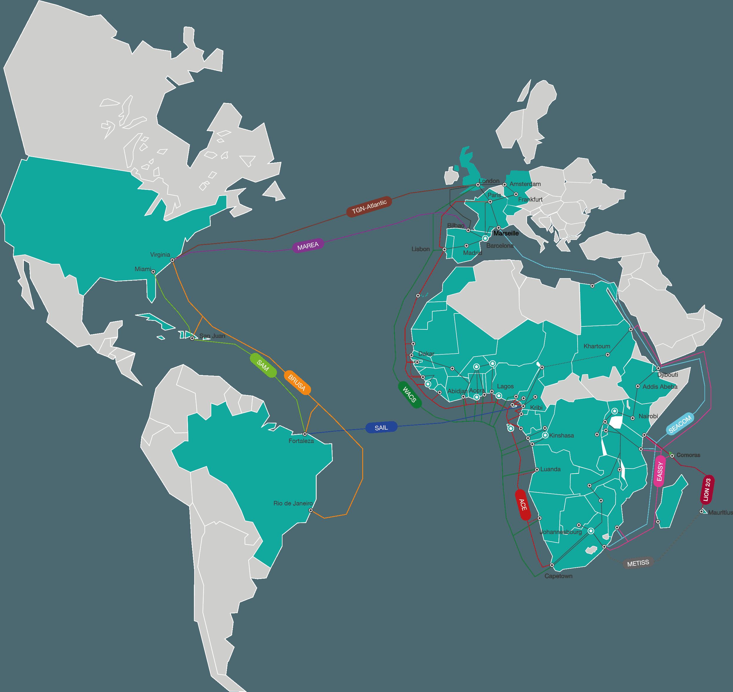AFR-IX map
